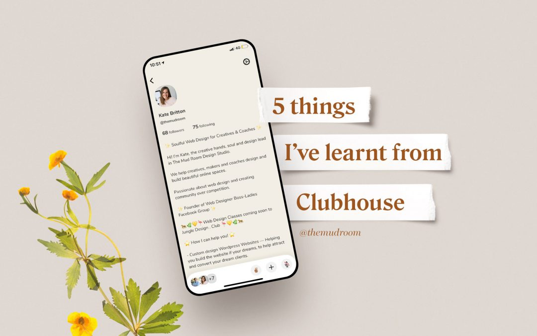 5 things I've learnt from Clubhouse